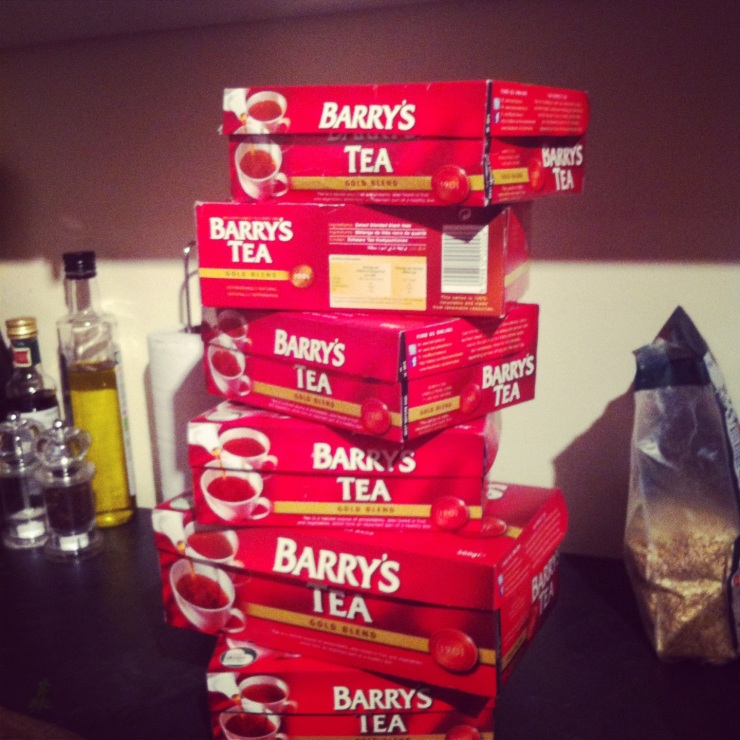 The leaning tower of Barry's!
